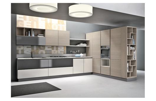 Cucine moderne componibili Stosa Allegra Aleve - Acquistabile in ...