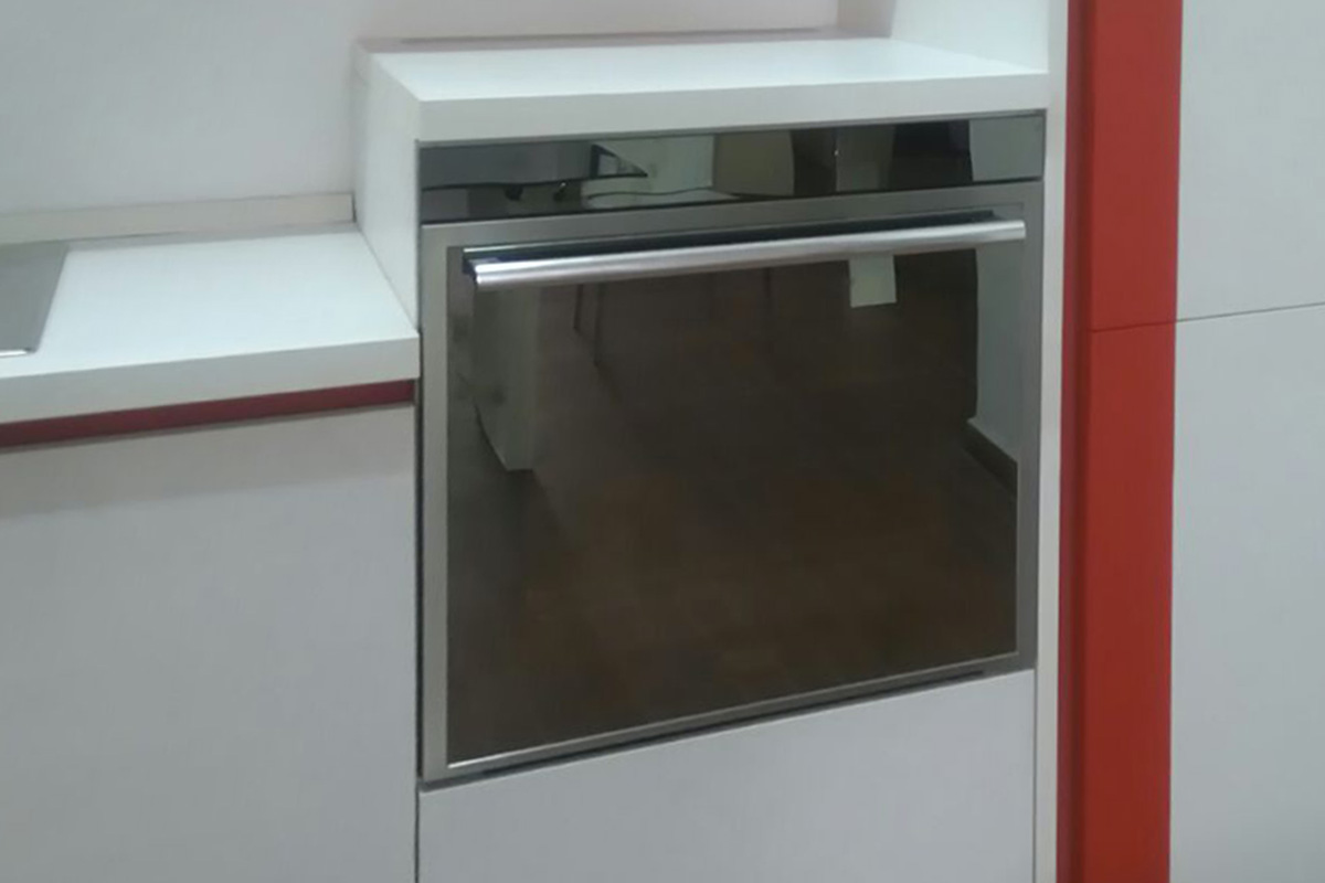 Cucina Outlet Lube Immagina olmo bianco 4