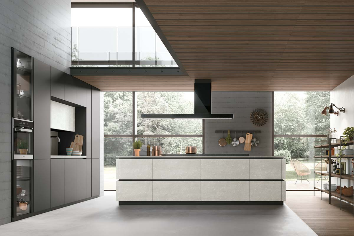 Cucine moderne componibili Stosa Progetto Metropolis ...