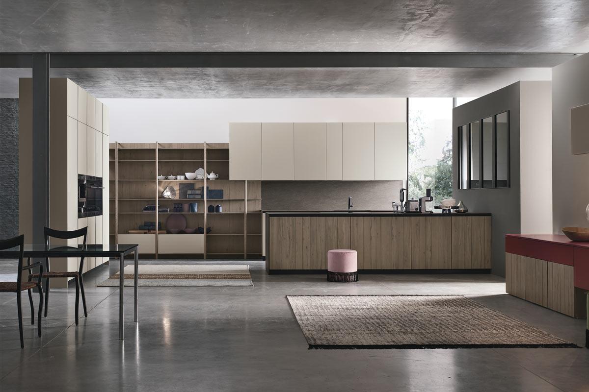 Cucine moderne componibili snaidero loft acquistabile in - Cucine stosa moderne ...