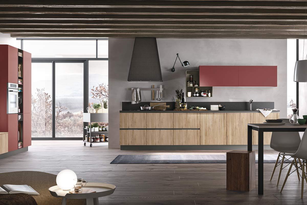 Cucine moderne componibili stosa replay acquistabile in for Lops arredi distretto del design trezzano