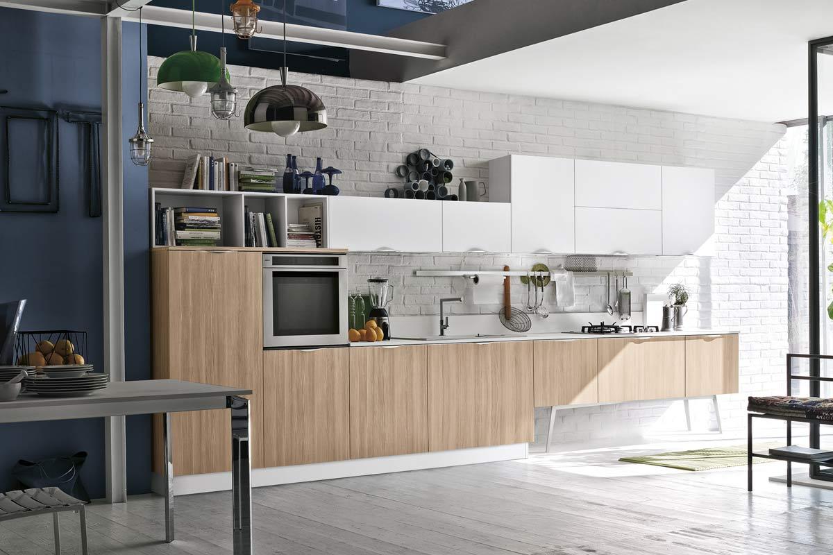 Cucine moderne componibili Stosa Progetto Replay - cucine ...
