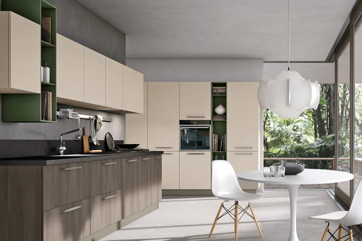 Cucine moderne componibili collezione lops natura replay - Cucina replay stosa ...