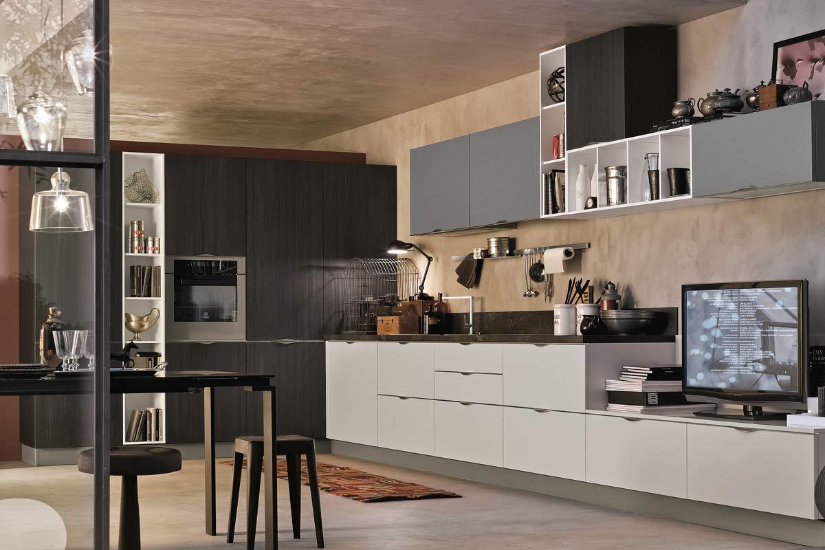 Cucine moderne componibili stosa replay acquistabile in for Stosa cucine verona