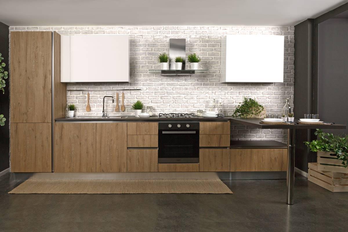 Cucine componibili piccole cucina in muratura with cucine for Mobili x cucine piccole
