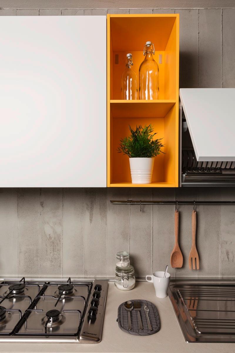Cucina moderna componibile easy lops smeraldo - Cucina componibile moderna ...