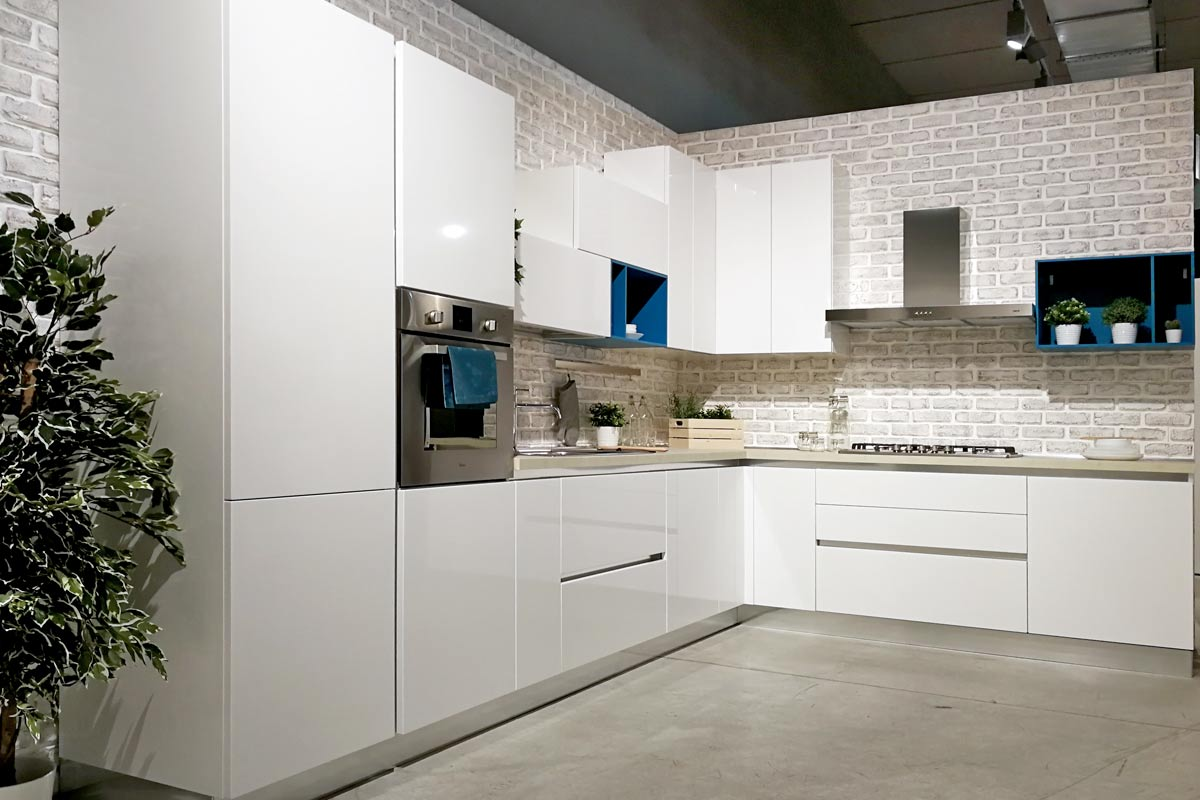 Foto cucine componibili interesting cucine minimal design cucine ever green cucine country chic - Cucine componibili foto ...