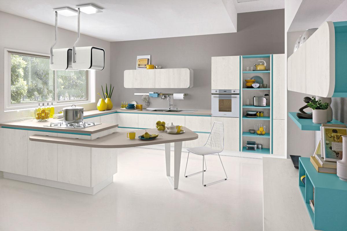 Cucine moderne componibili lube immagina acquistabile in - Cucine udine vendita ...