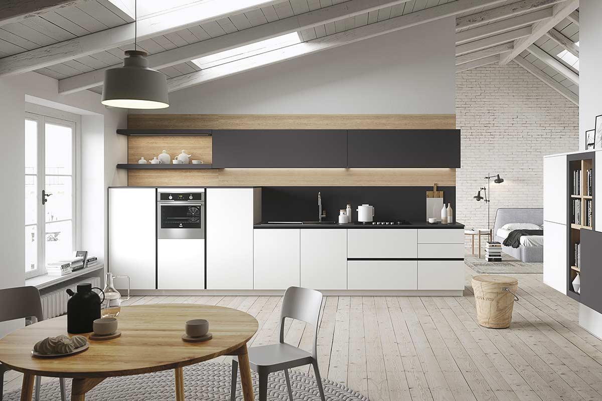 Cucine moderne componibili Snaidero First - Acquistabile in Milano ...