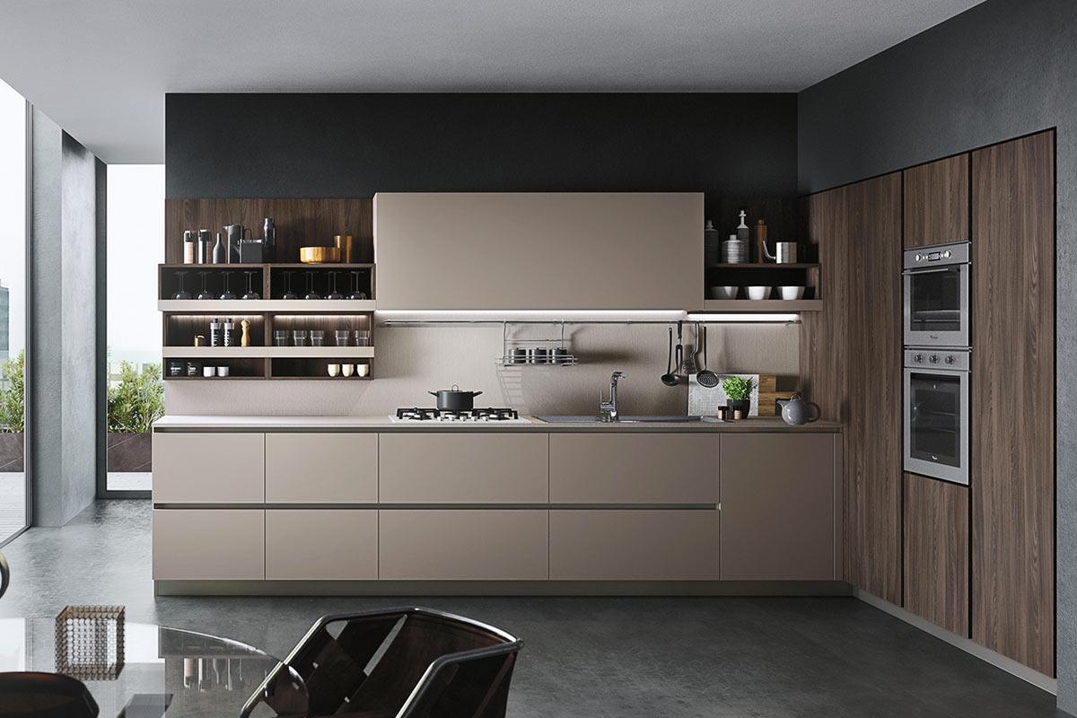 Cucine moderne componibili Easy Lops Progetto First - cucine ...