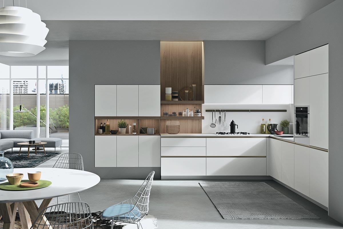 Cucine moderne componibili snaidero joy cucine for Mobili cucine moderne componibili