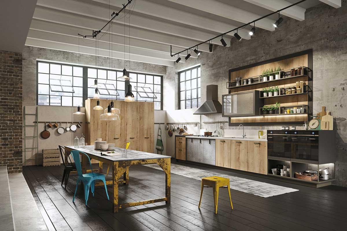 Cucine moderne componibili Snaidero Loft - Acquistabile in ...