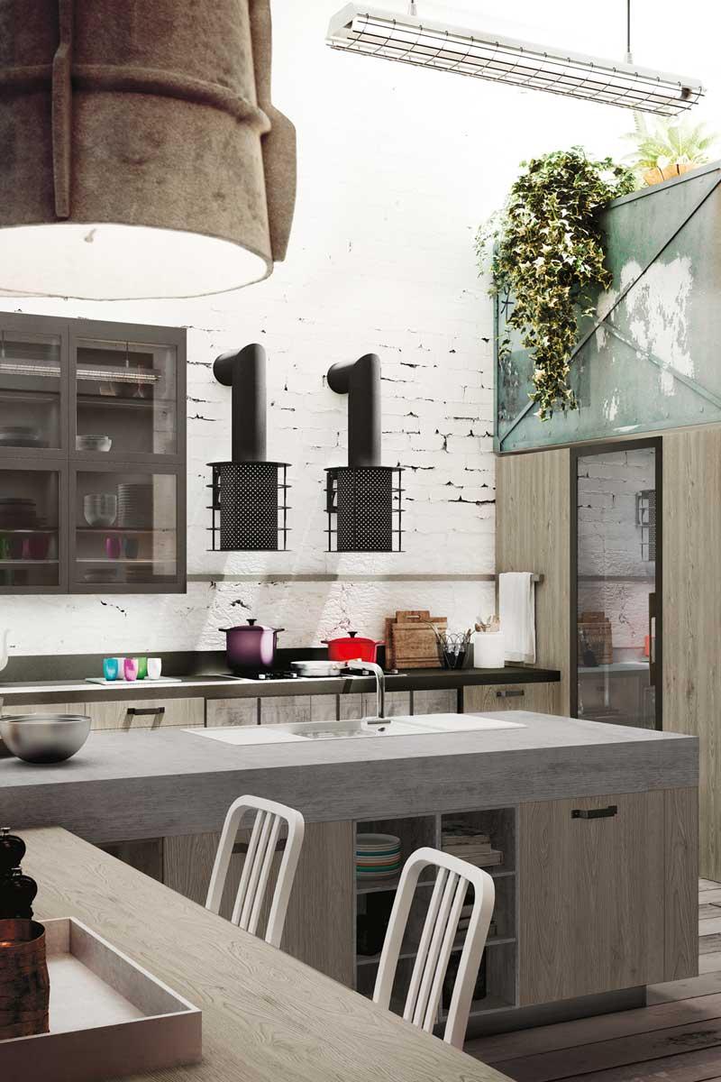 Cucine moderne componibili snaidero loft acquistabile in for Cucine moderne componibili