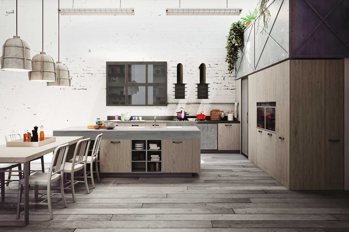 Cucine moderne componibili snaidero loft acquistabile in - Cucine snaidero outlet ...