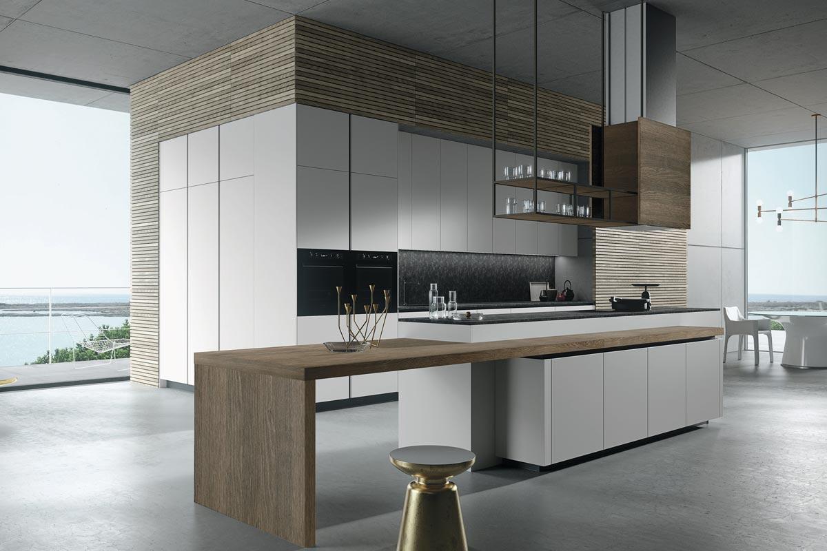 Cucine moderne componibili Snaidero Look - cucine - Acquistabile in ...