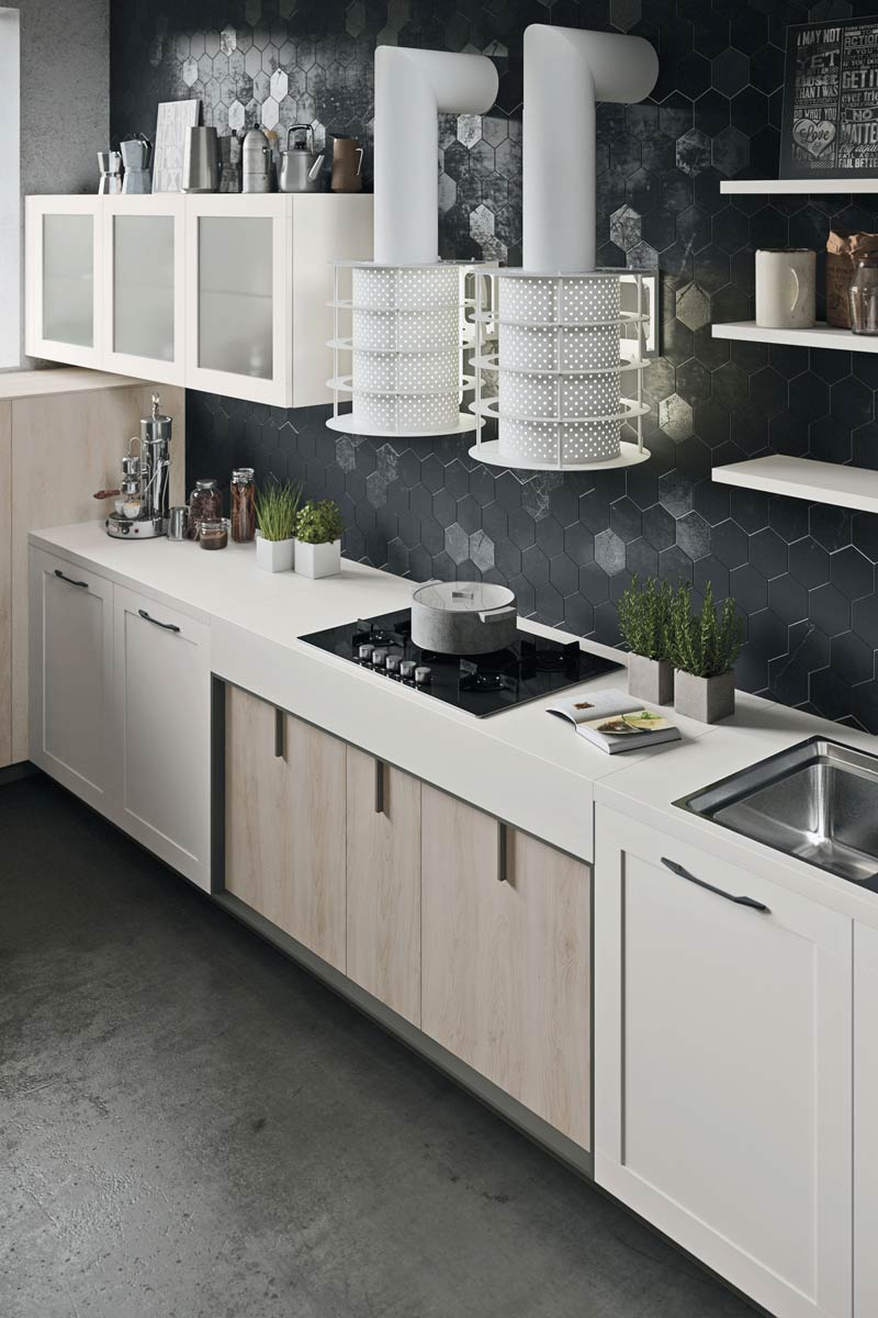 Cucine moderne componibili snaidero lux acquistabile in milano e provincia monza e brianza - Cucine snaidero moderne ...