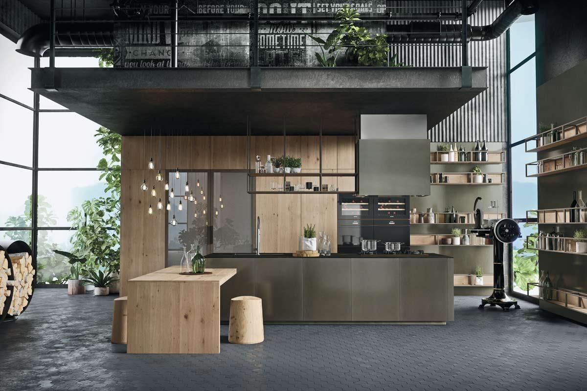 Cucine moderne componibili Snaidero Opera - Acquistabile in Milano e ...