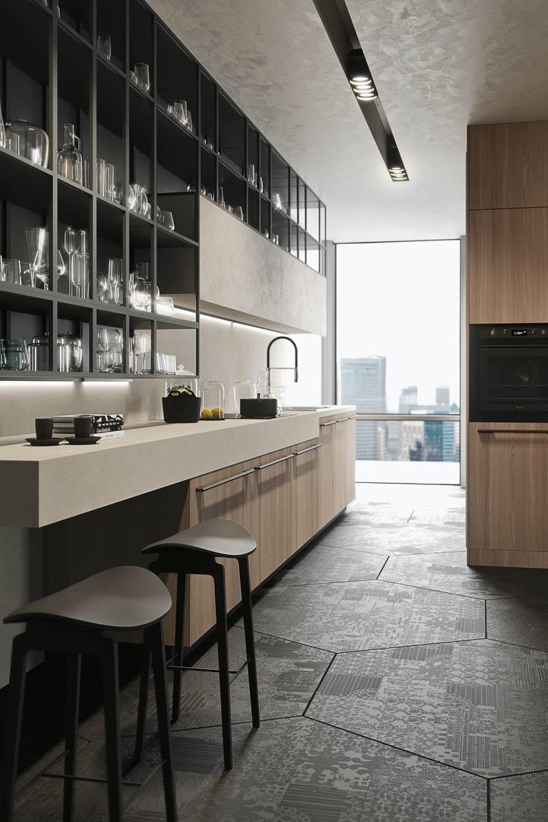 Cucine moderne componibili snaidero opera acquistabile in milano e provincia monza e brianza - Cucine snaidero moderne ...