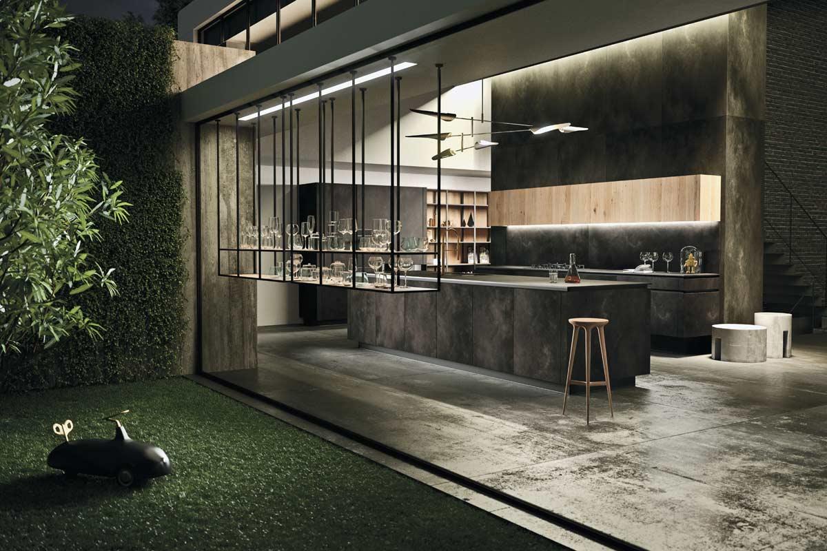 Cucine moderne componibili Snaidero Progetto Way Materico - cucine ...