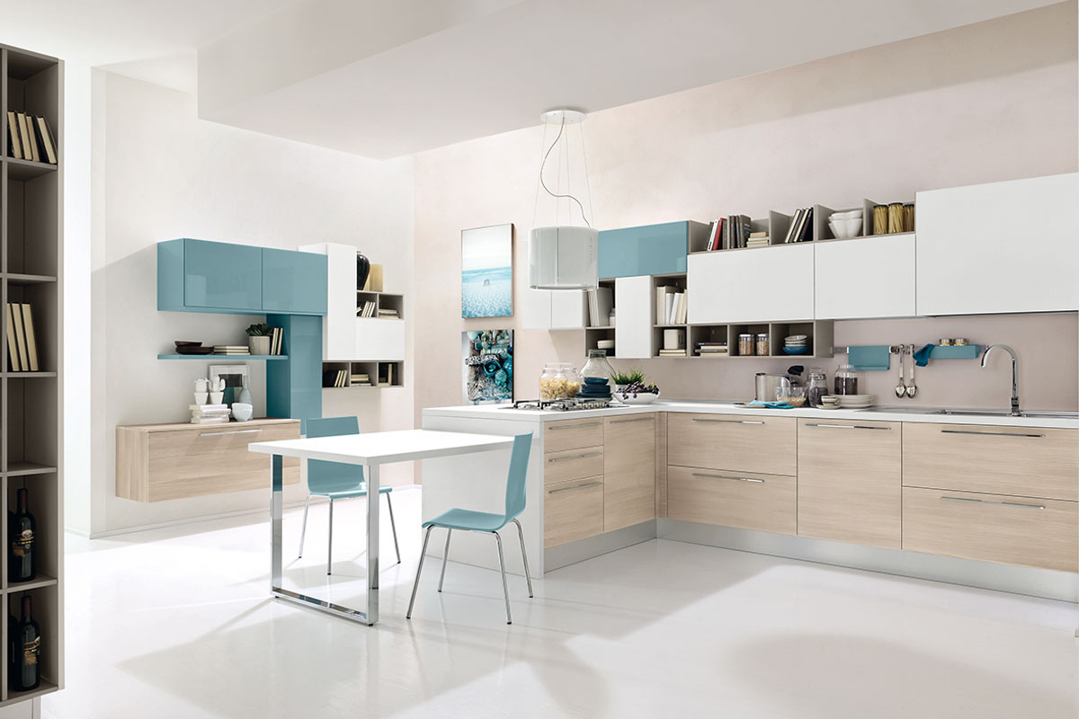 Cucine moderne componibili lube swing acquistabile in - Cucine componibili lube ...