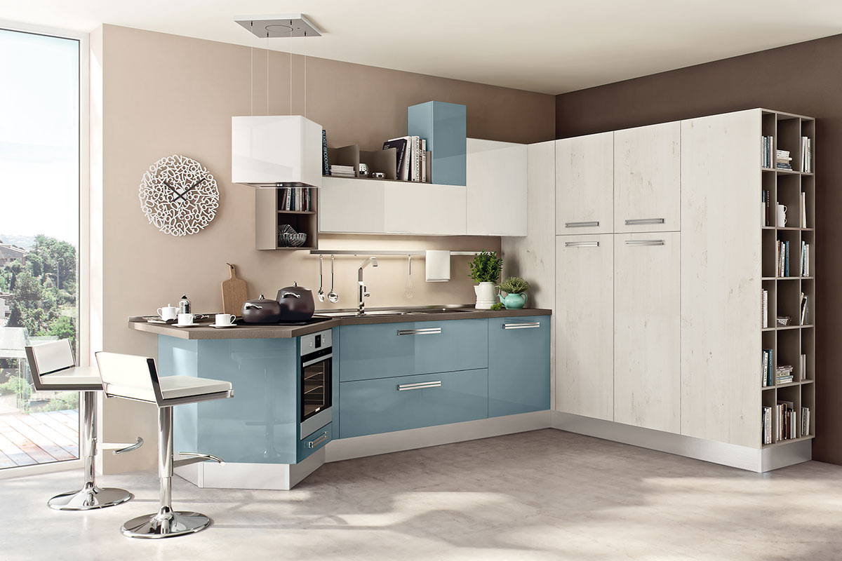 Cucine moderne colorate aq42 regardsdefemmes - Cucina moderna design ...