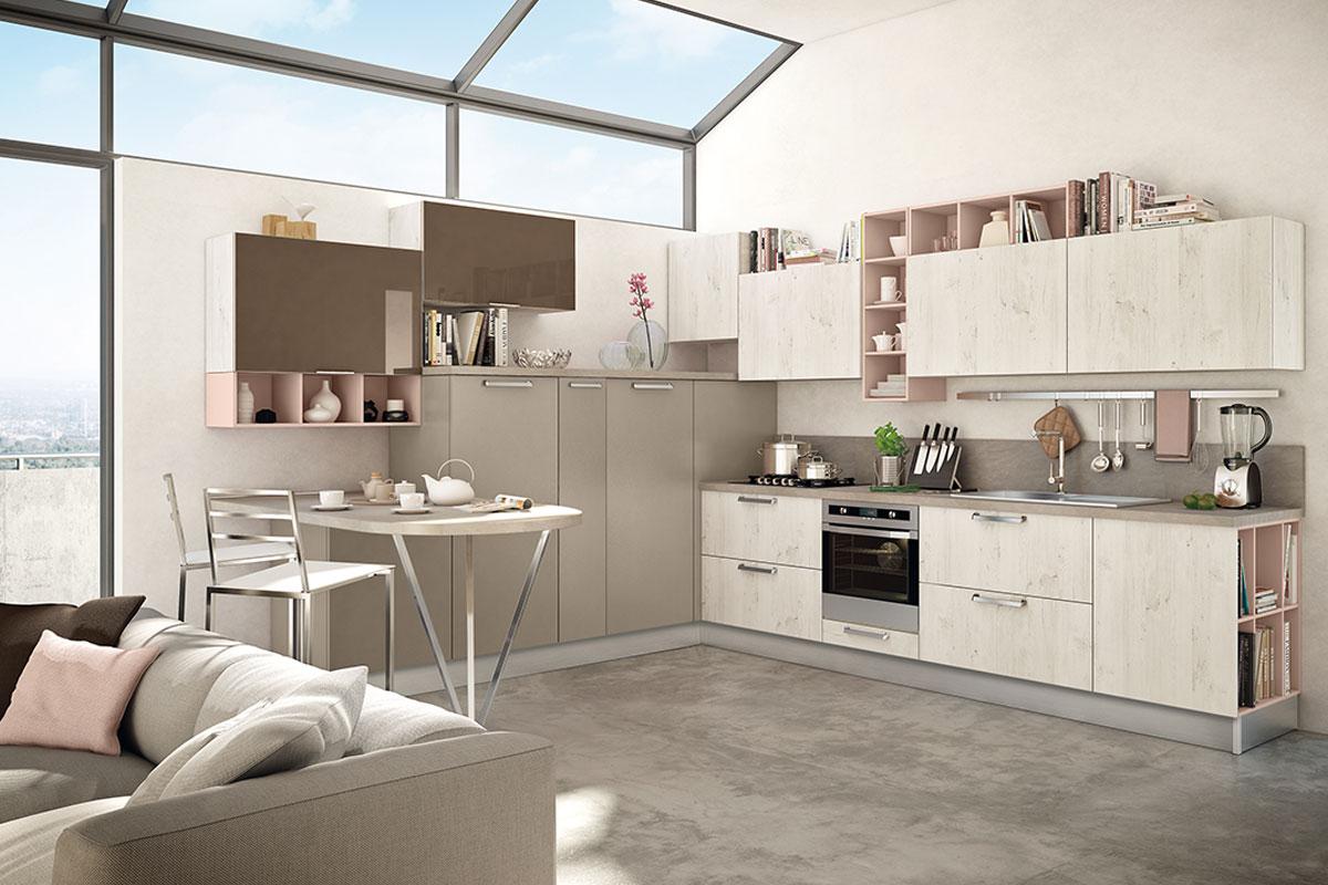 Beautiful Cucina Lube Silvia Contemporary - Ideas & Design 2017 ...