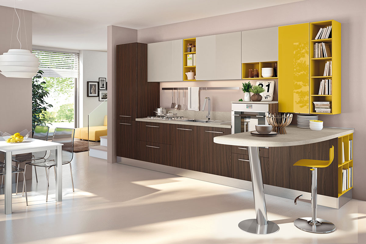Cucine colorate awesome cucine moderne with cucine for Cucine componibili colorate