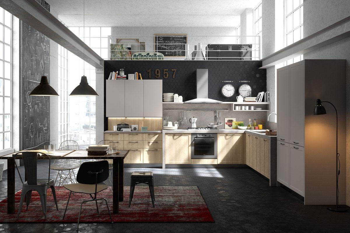Cucine moderne componibili snaidero abaco contemporanea acquistabile in milano e provincia - Cucine snaidero moderne ...