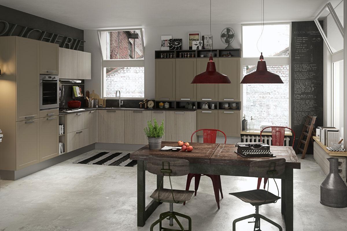 Cucine moderne componibili snaidero abaco contemporanea - Cucine snaidero outlet ...