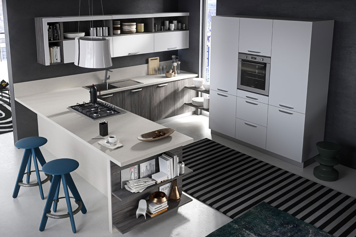 Cucine moderne componibili snaidero abaco touch - Cucine snaidero moderne ...