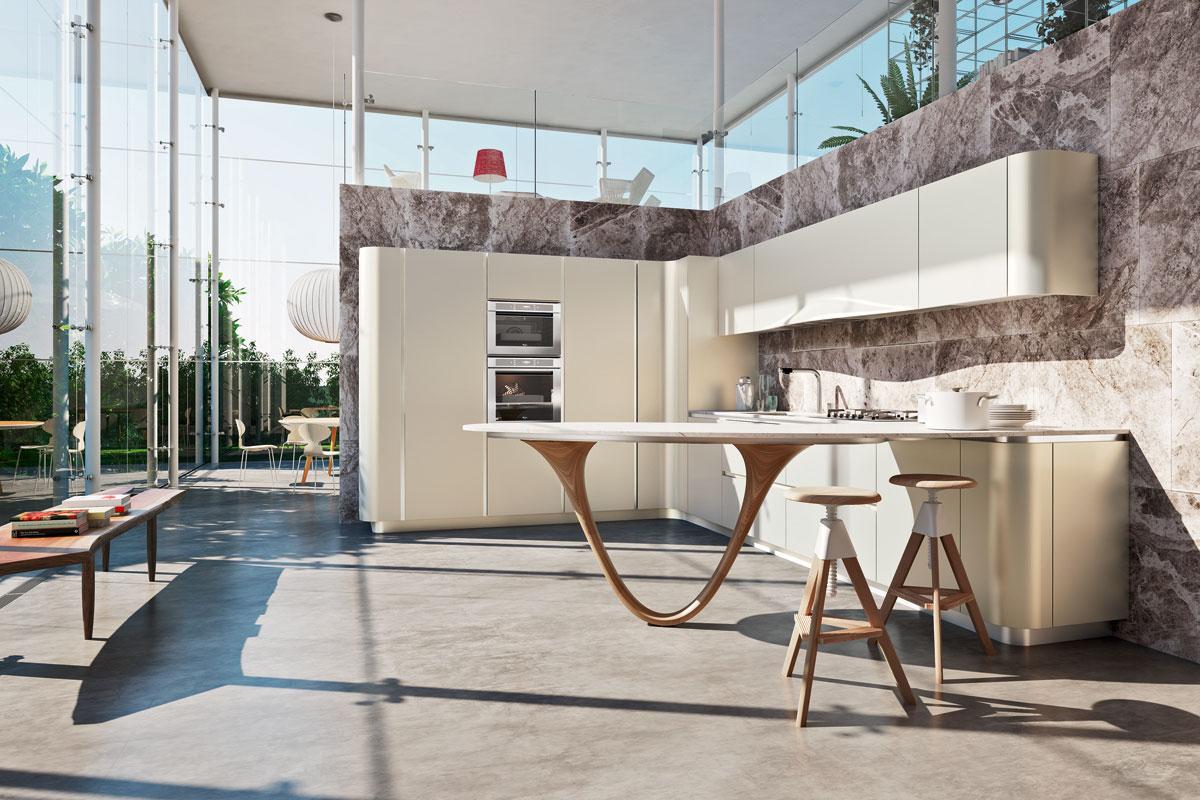 Cucine moderne componibili top lops progetto ola cucine