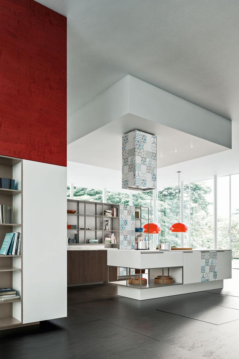 Cucine moderne componibili Snaidero Orange - Acquistabile in Milano ...