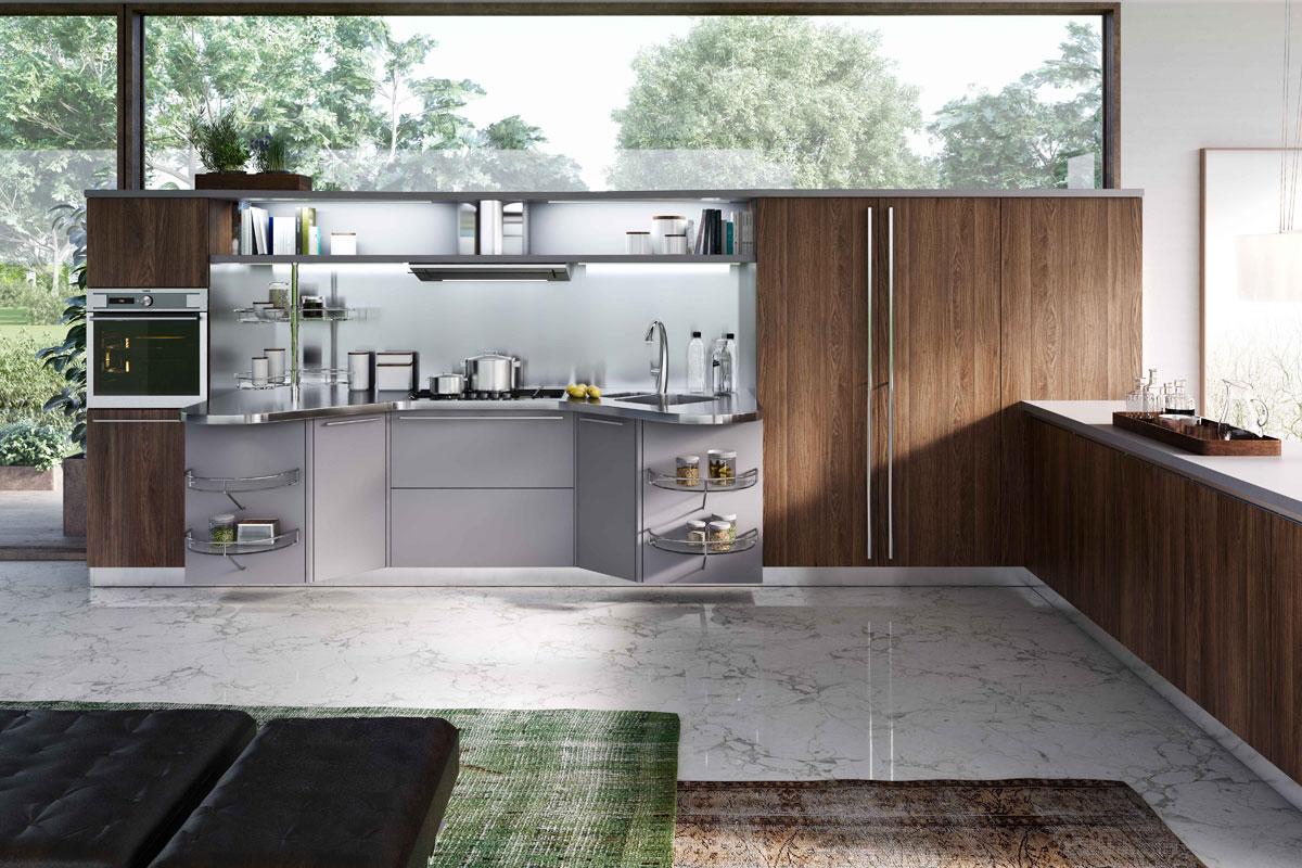 Cucine moderne componibili Snaidero Skyline - Acquistabile in Milano ...