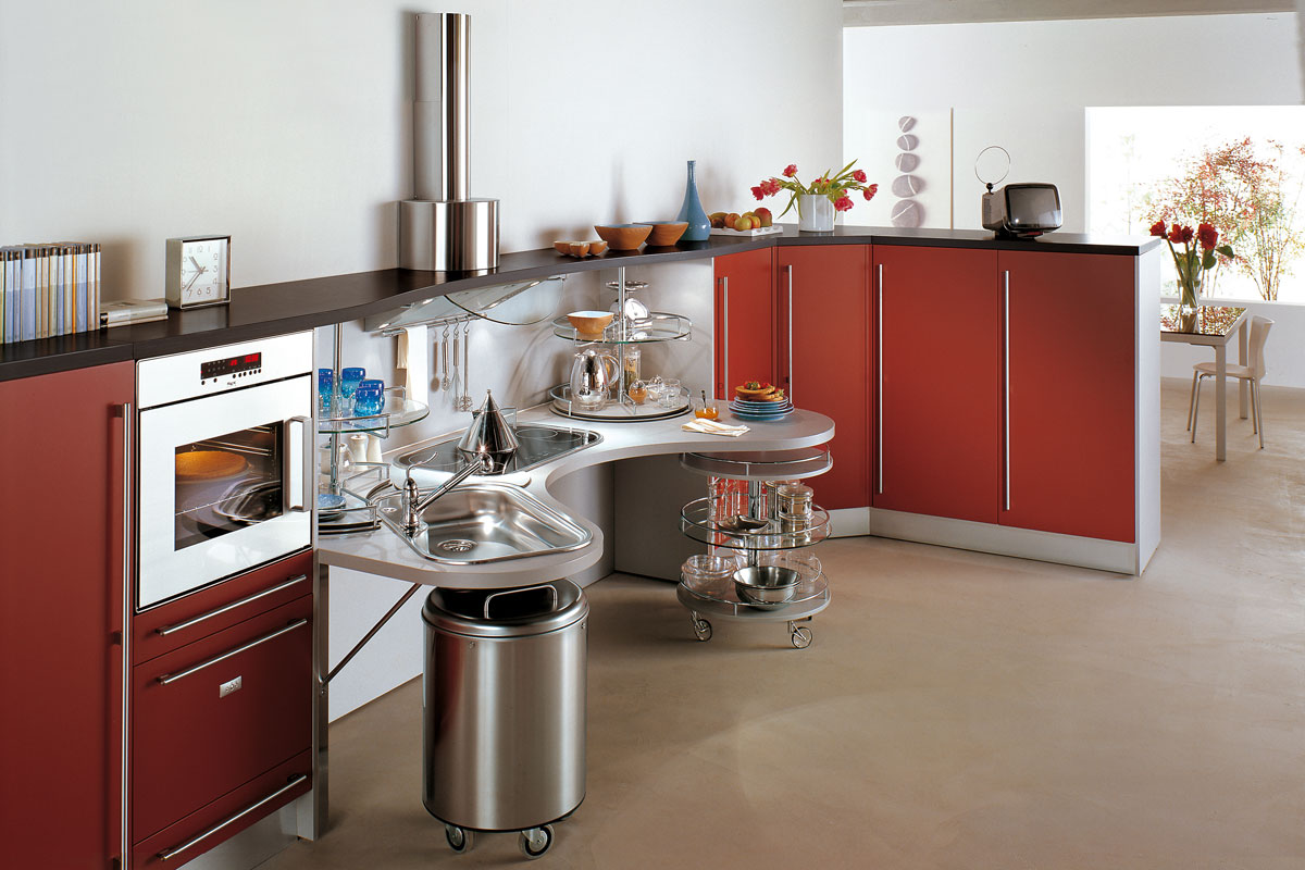 Cucine moderne componibili Snaidero Skyline - Acquistabile in ...