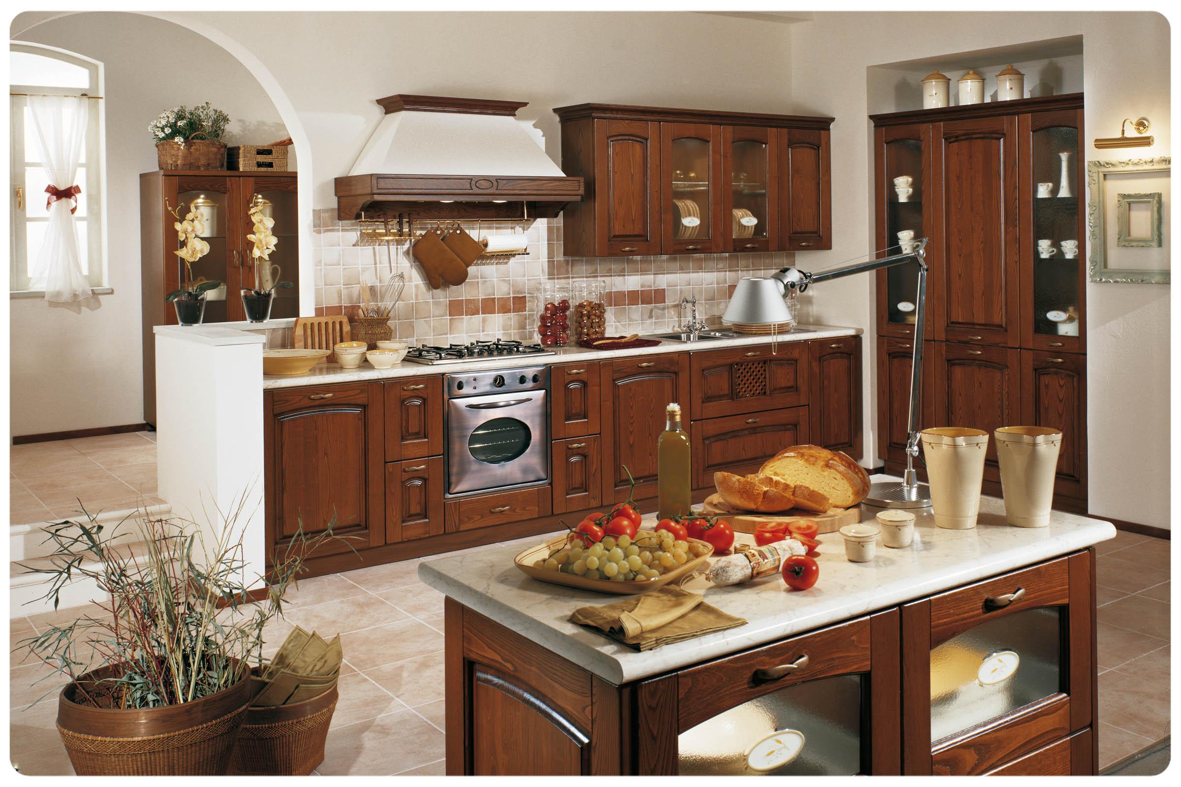 Cucine classiche componibili Stosa Focolare - Acquistabile in Milano e provin...