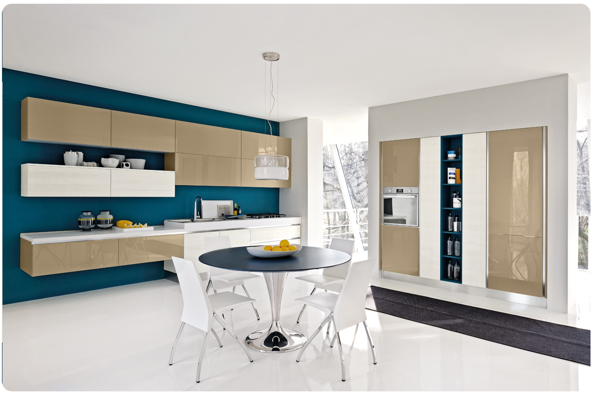 Cucine moderne componibili Lube Brava - Acquistabile in ...