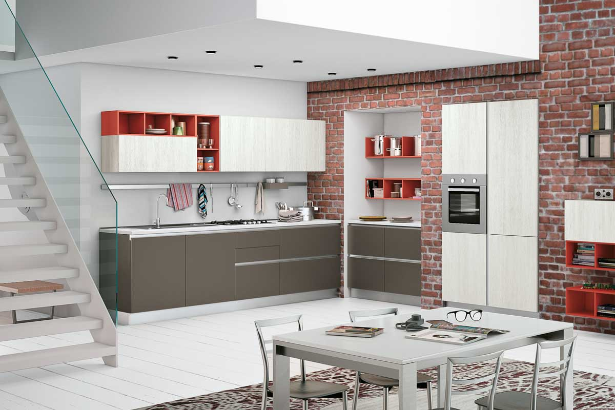 Cucine moderne componibili creo ank acquistabile in for Cucine moderne componibili