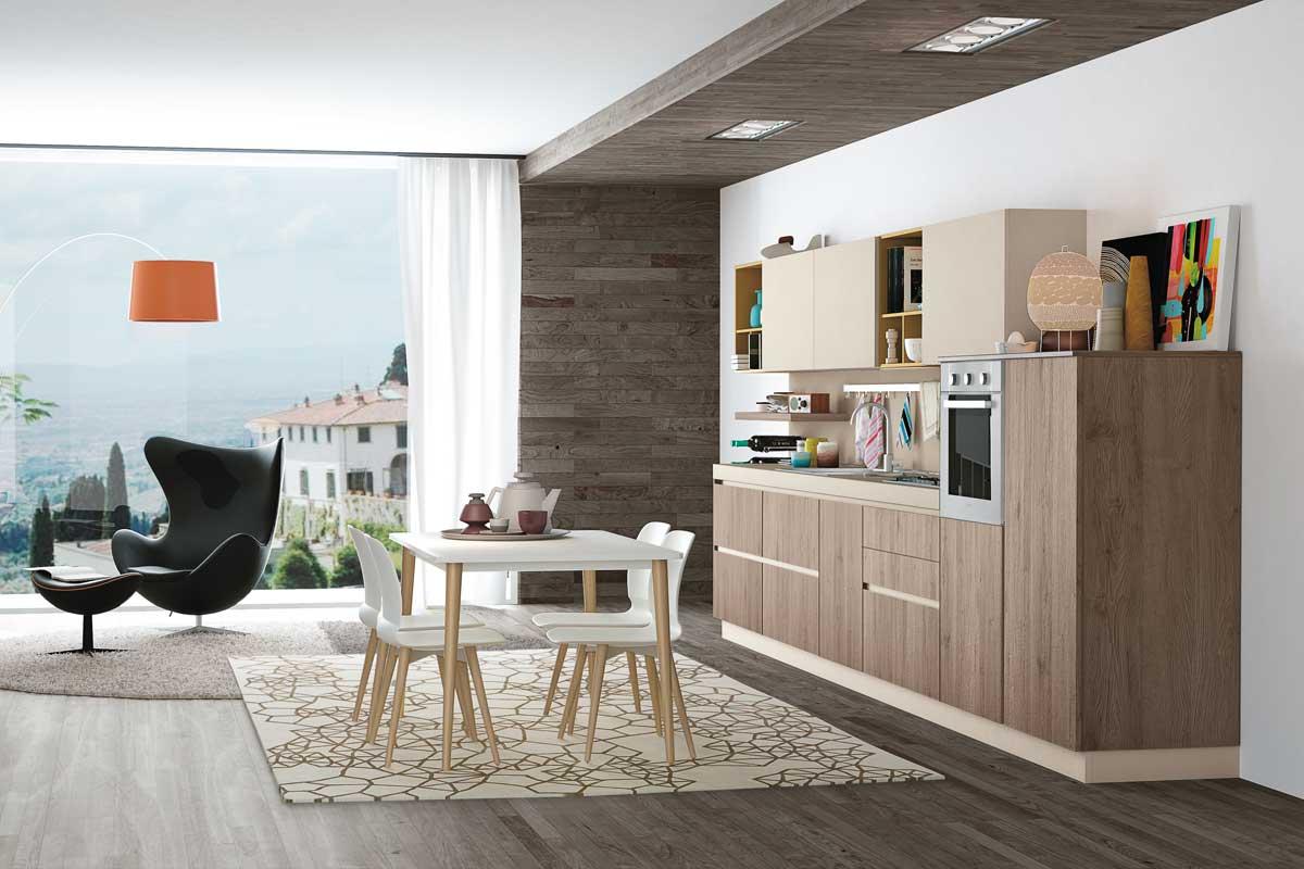 Cucine moderne componibili Creo Ank - Acquistabile in Milano e provincia, Mon...