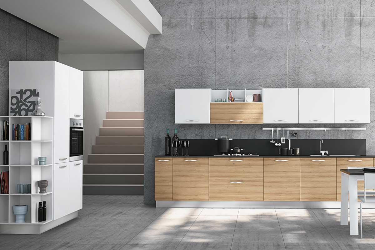 Cucine moderne componibili Creo Britt - Acquistabile in Milano e ...