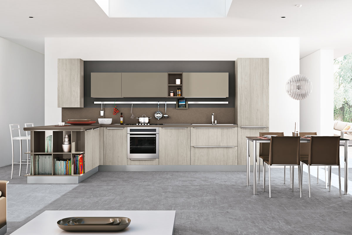 Cucine moderne componibili creo gayla cucine for Cucine componibili