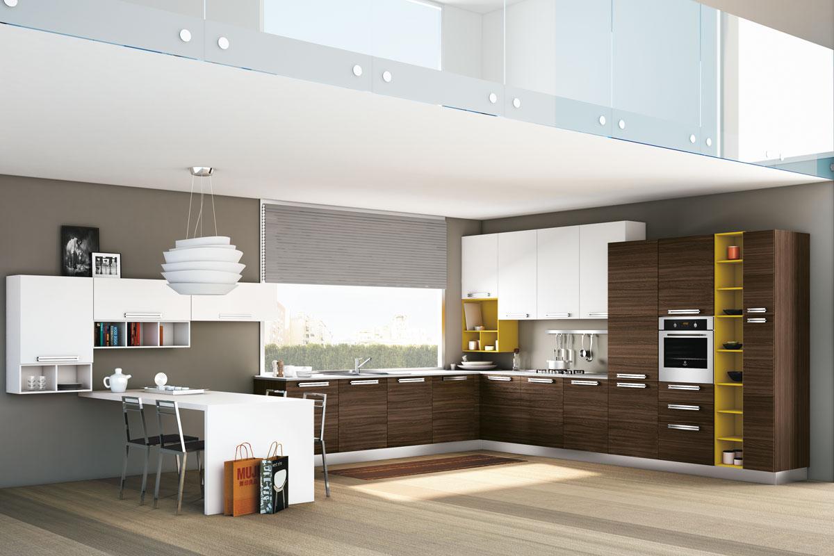 Cucine moderne grattarola idee creative su interni e mobili - Cucine componibili moderne prezzi ...