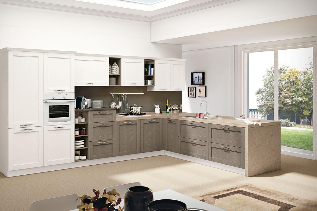 Cucine classiche componibili creo iris acquistabile in for Cucine classiche