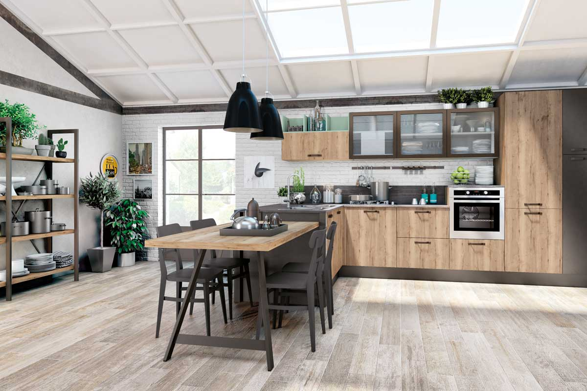 Awesome Opinioni Cucine Lube Contemporary - Amazing House Design ...