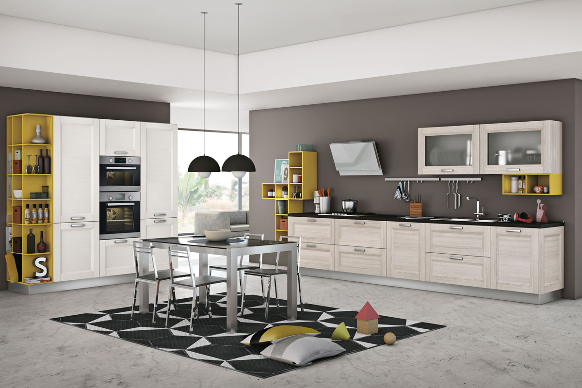 Cucine moderne componibili creo mya acquistabile in - Immagini cucine moderne ...