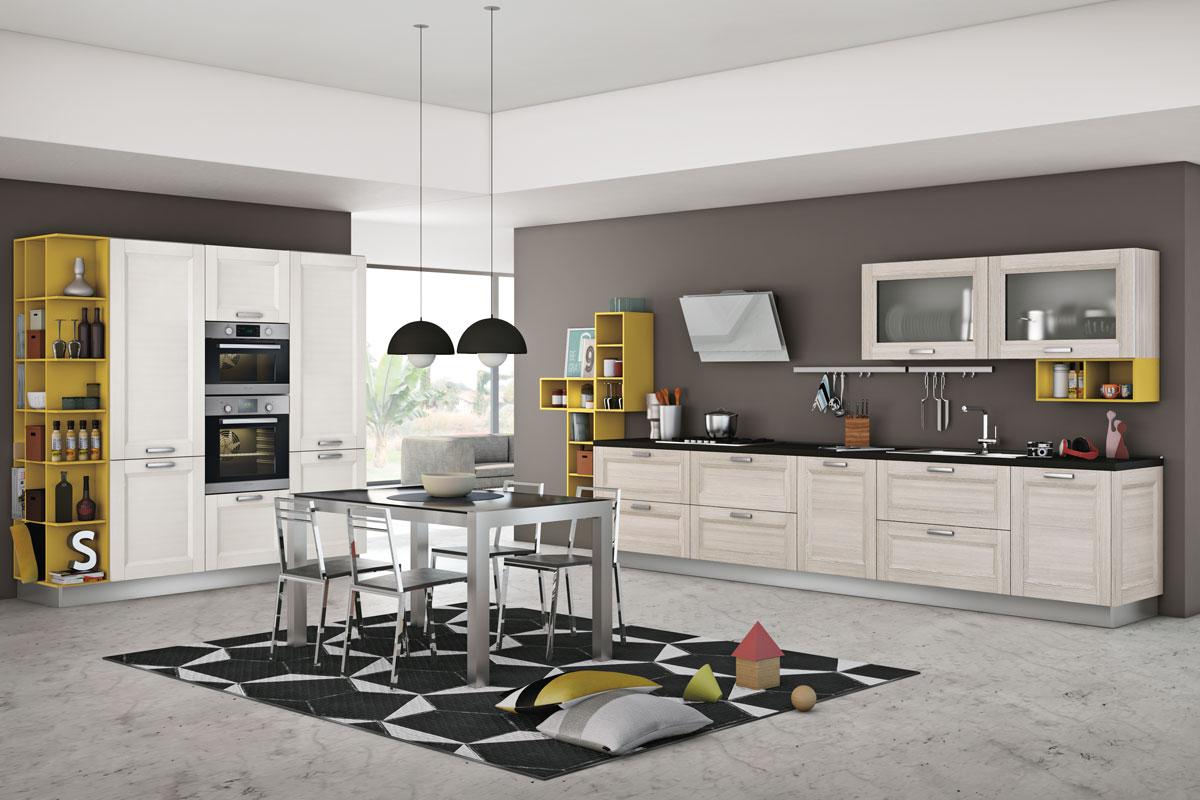 Cucine moderne componibili creo mya acquistabile in for Cucine foto
