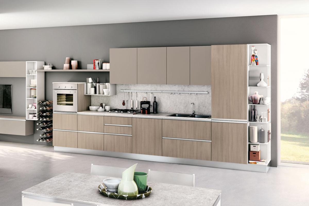 Cucine moderne componibili creo nita acquistabile in for Lops arredi distretto del design trezzano