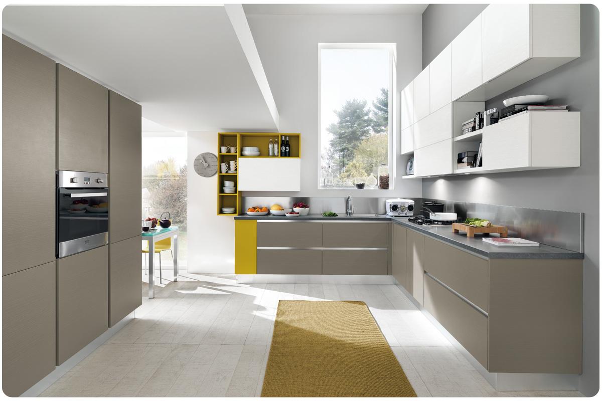 Cucine moderne componibili lube essenza cucine - Colori di cucine moderne ...