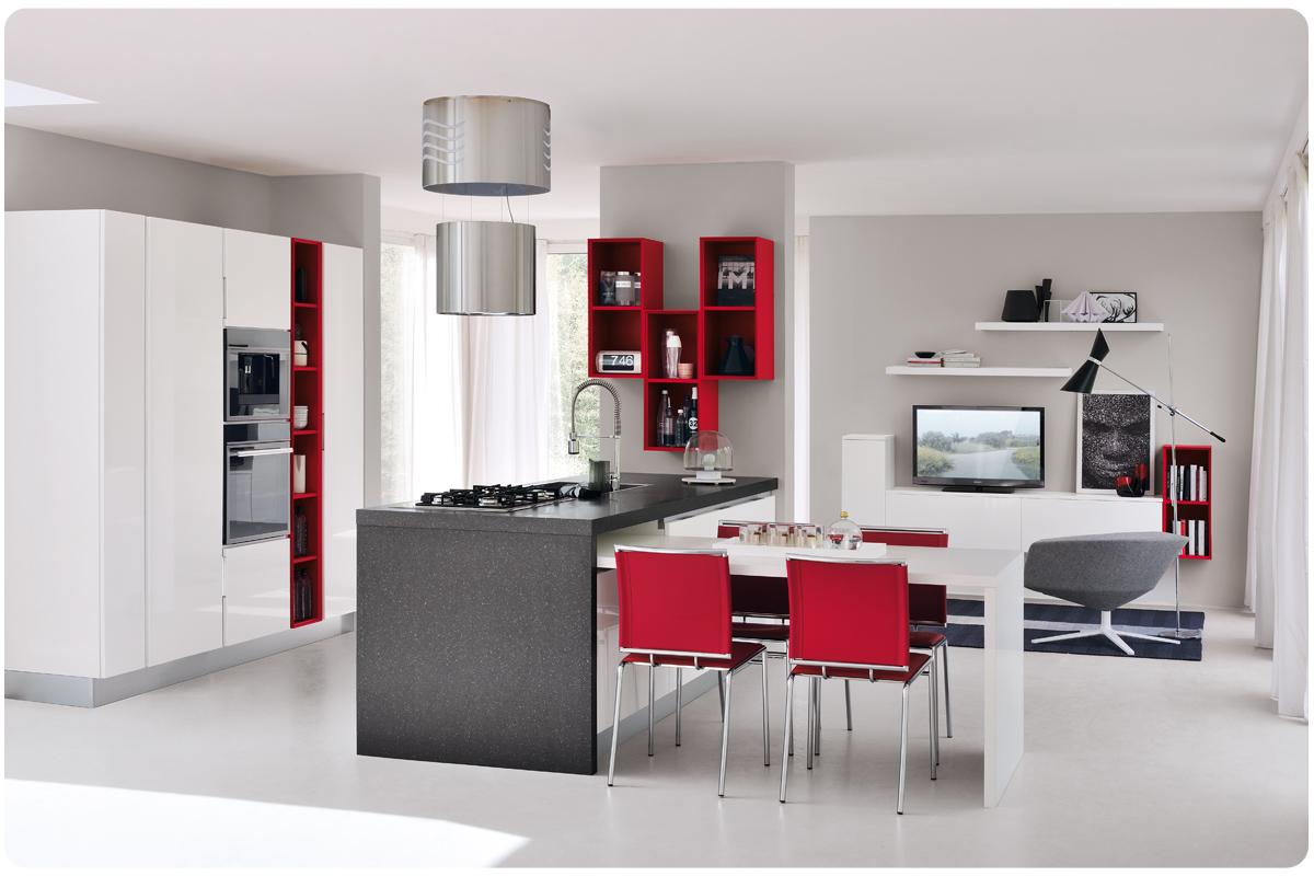 Cucine moderne componibili Lube Essenza - Acquistabile in Milano e ...