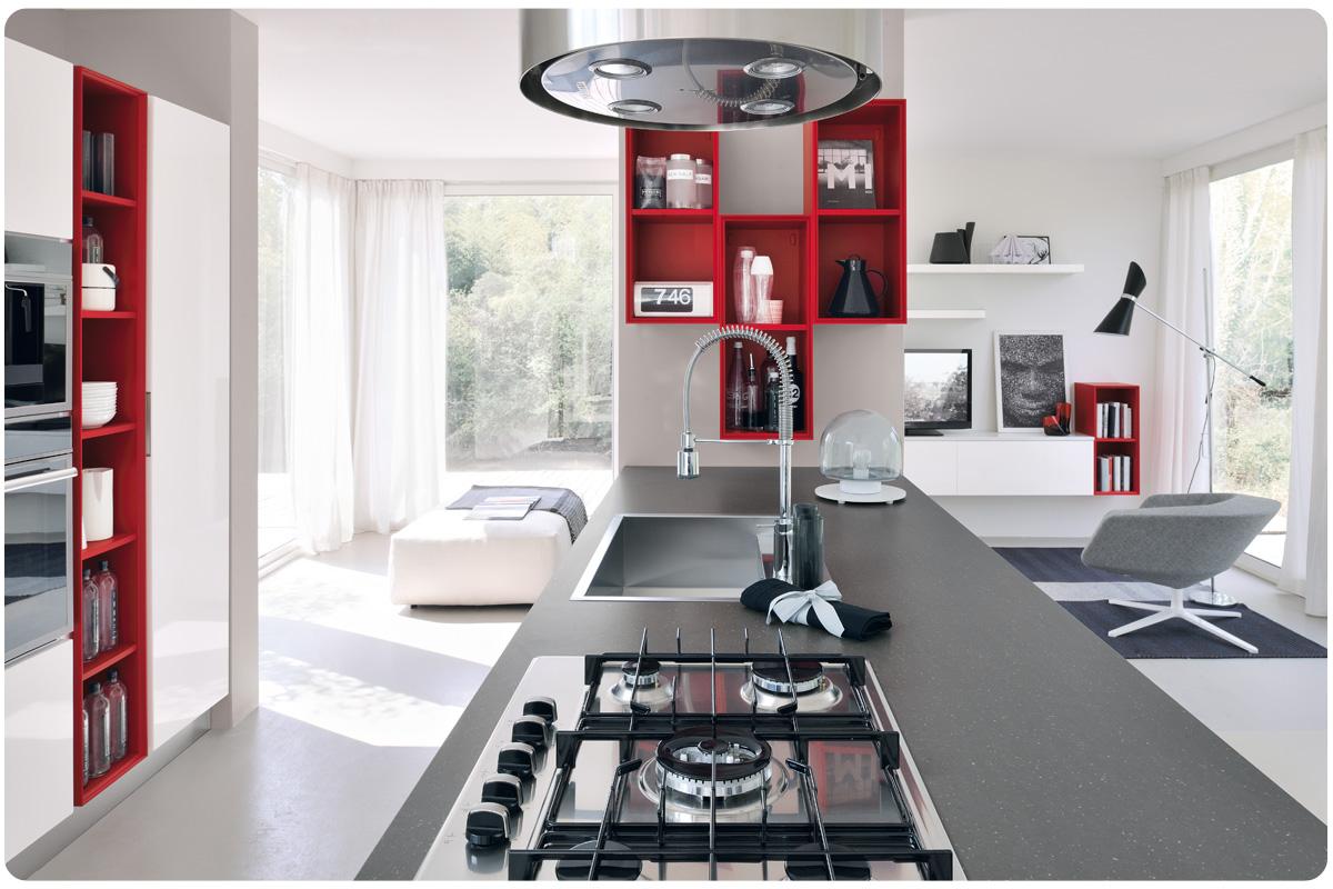 Cucine moderne componibili Lube Essenza - cucine - Acquistabile in ...