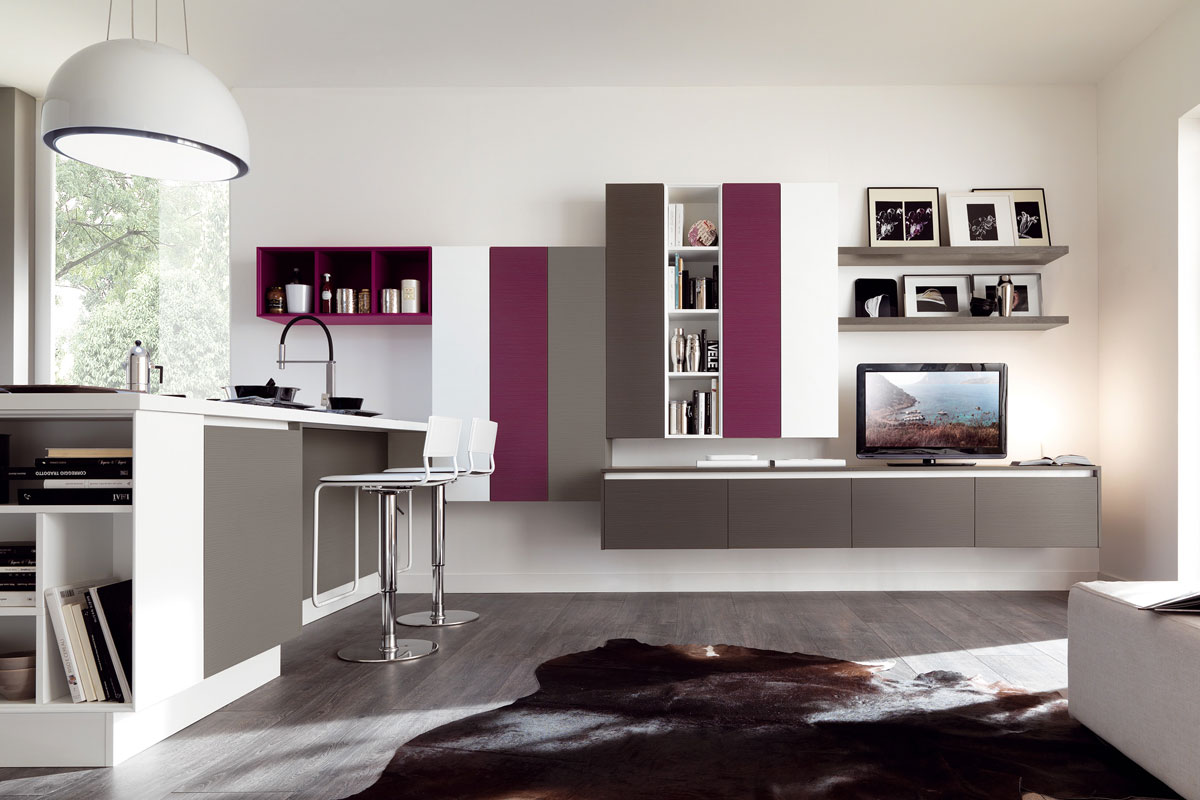 Cucine moderne componibili lube essenza cucine - Cucine componibili outlet ...